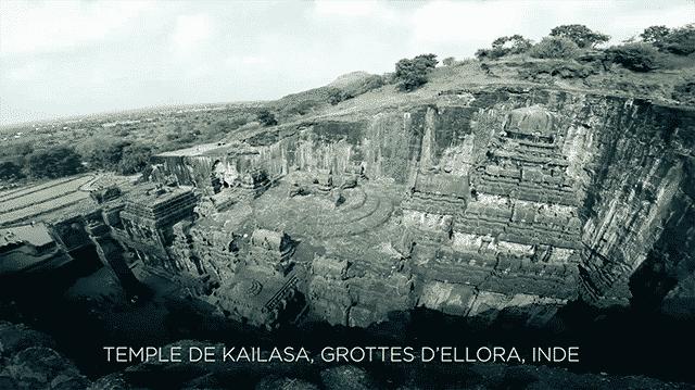grotte d'elora inde kailasa