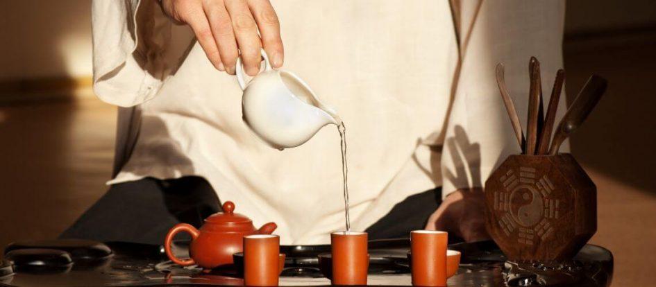 histoire du maitre du thé et du samourai